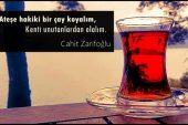 Çay İle İlgili Sözler