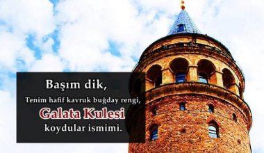 Galata Kulesi İle İlgili Sözler