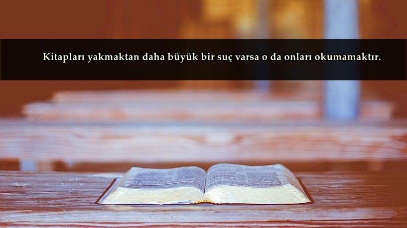 Kitap İle İlgili Sözler