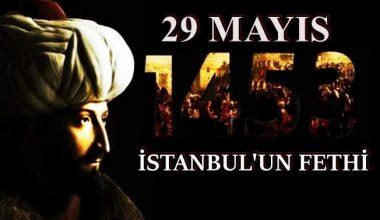 İstanbul'un Fethi Sözleri ve Mesajları