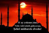 Resimli Elveda Ramazan Sözleri