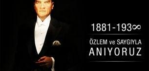 10 Kasım Atatürk'ü Anma Mesajları