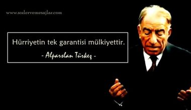 Alparslan Türkeş Sözleri